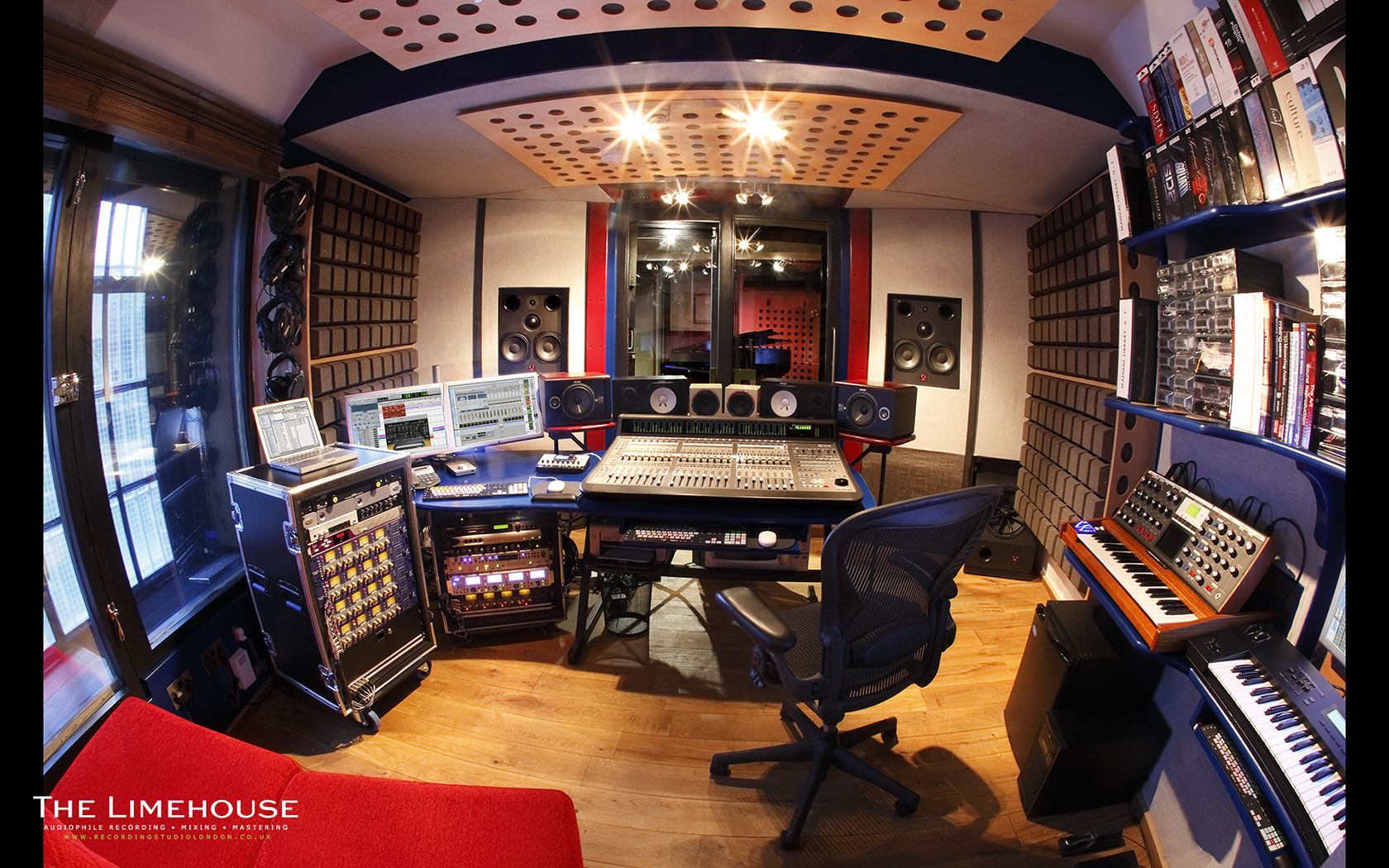 Recording Studio Control Room Fisheye 1680.jpg
